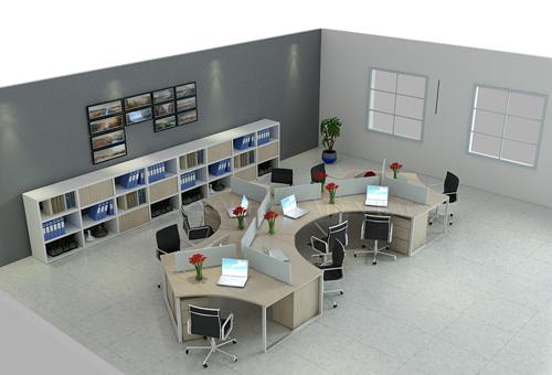 Thiết kế văn phòng theo kiểu thúc đẩy hoạt động tích cực